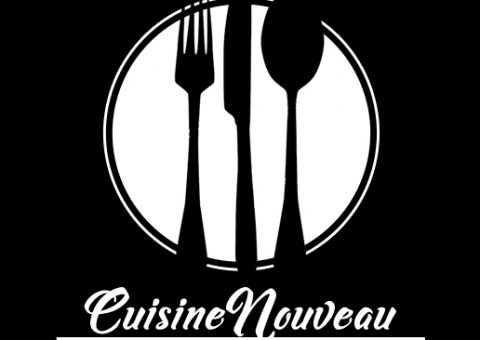 black and white logo for catering company
