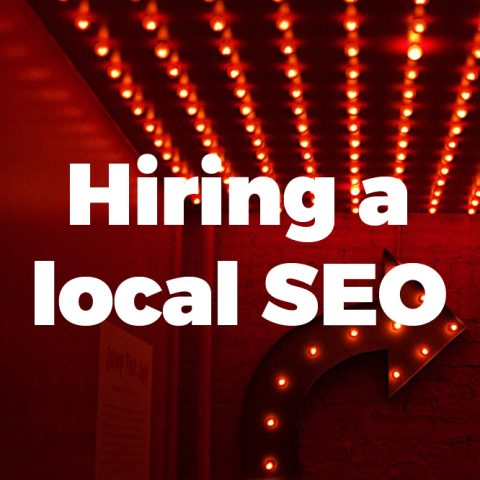 Hiring a local SEO